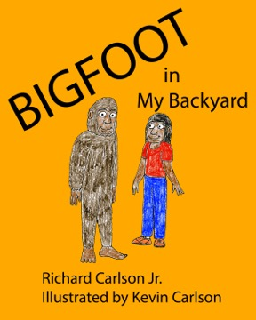 Bigfoot in My Backyard KINDLE Cover